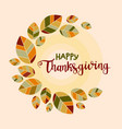 happy thanksgiving background poster with vector image