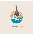 yacht icon image vector image vector image