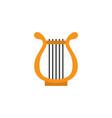 philharmonic flat icon symbol premium quality vector image