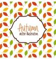 autum season vector image
