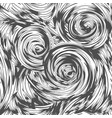 abstract swirl seamless pattern vector image