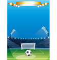 Soccer Sports stadiums vector image