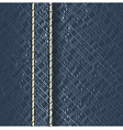 Jeans fabric texture vector image