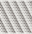 seamless pattern with small and large peas vector image