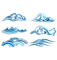 Wave Collection vector image