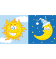 Cartoon weather symbol vector image