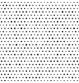 Black and white seamless pattern with dots vector image