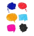 set of colorful bubbles eps 10 vector image