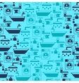 Seamless pattern with plumbing equipment vector image