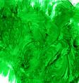 Watercolor green backdrop vector image