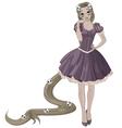 Halloween Princess vector image