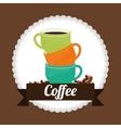 Cofee icons design vector image