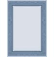Guilloche frame vector image