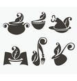 health cooking collection vector image