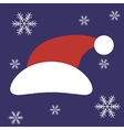 Christmas Santa Claus Hat in vector image