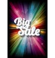 big sale on rainbow vector image vector image