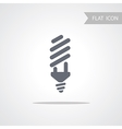 Bulb Symbol for web vector image