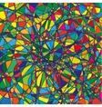 Color doodle background vector image