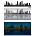 Chicago skyline vector image