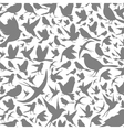 Background of birds3 vector image