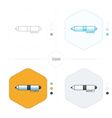 pen icons 4 design vector image