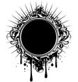 frame grunge vector image