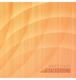 Abstract wooden background vector image vector image
