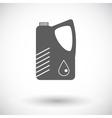 Jerrycan single icon vector image