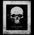skull printskull evil skullconcert postersskull vector image