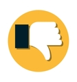 hand human unlike icon vector image