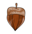 nut natural snack vector image
