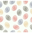 pattern fingerprints dactyloscopy vector image