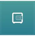 Safe money icon vector image