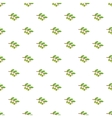 Sprig of olive pattern cartoon style vector image