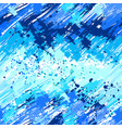 seamless painted blue paint vector image vector image