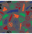 automotive colorful pattern eps10 vector image