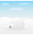 one igloo vector image vector image