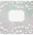 Romantic elegant floral vector image vector image