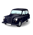 Car taxi isolated on white background vector image