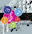 music festival background design vector image