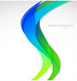 Abstract wavy vector image