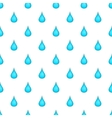Drop of water pattern cartoon style vector image