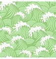 Seamless pattern with pink waves vector image