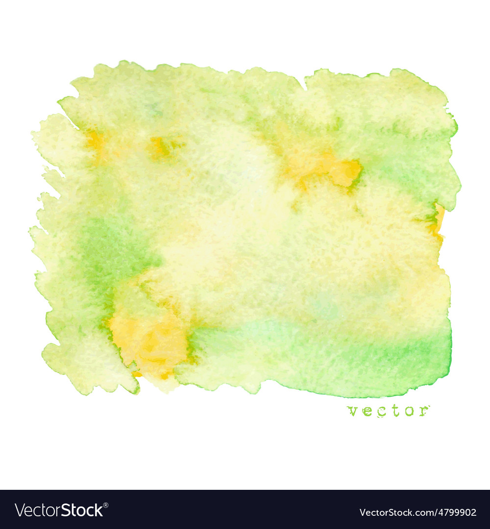 Abstract watercolor background vector