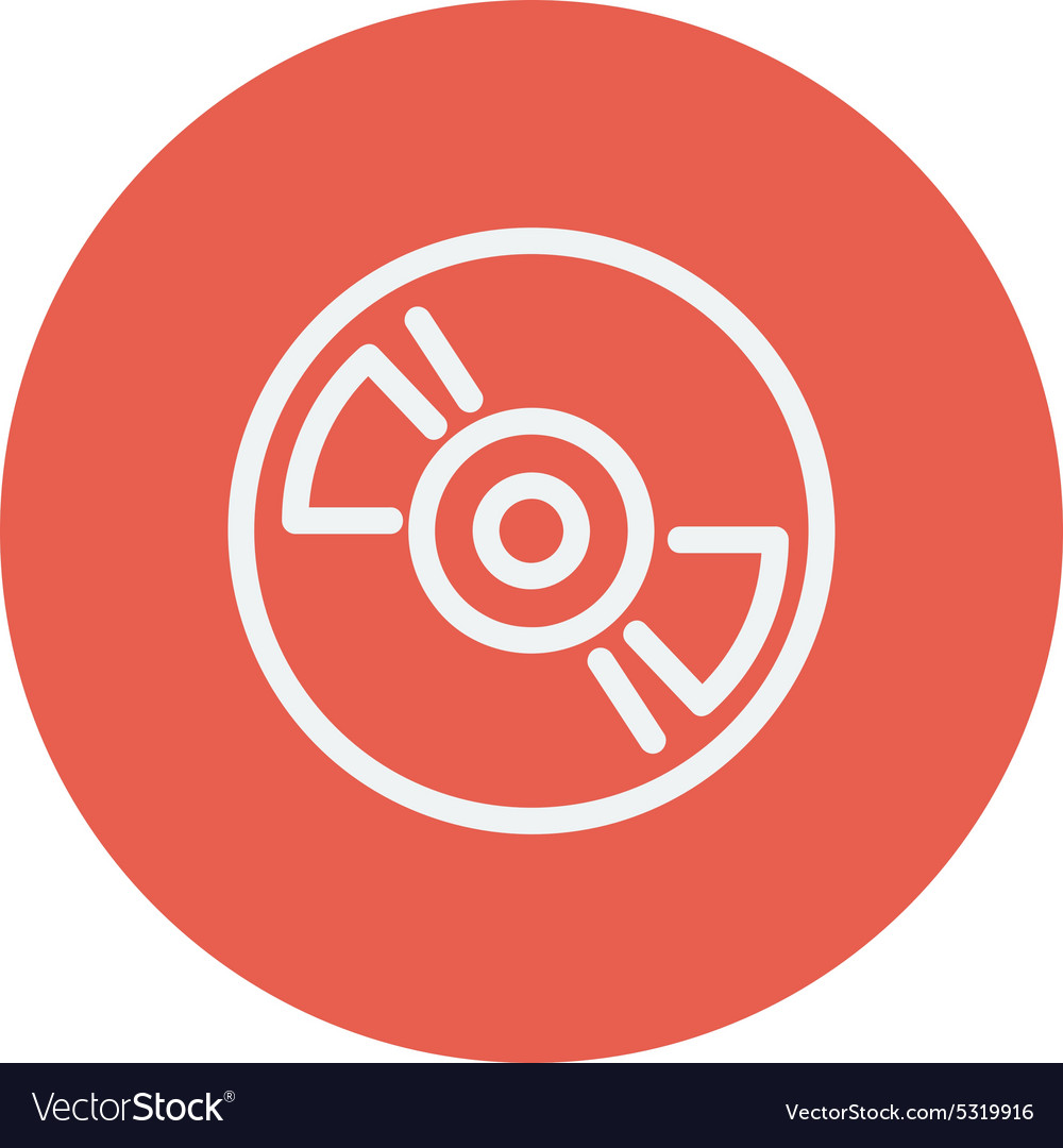 Reel player deck recorder thin line icon vector