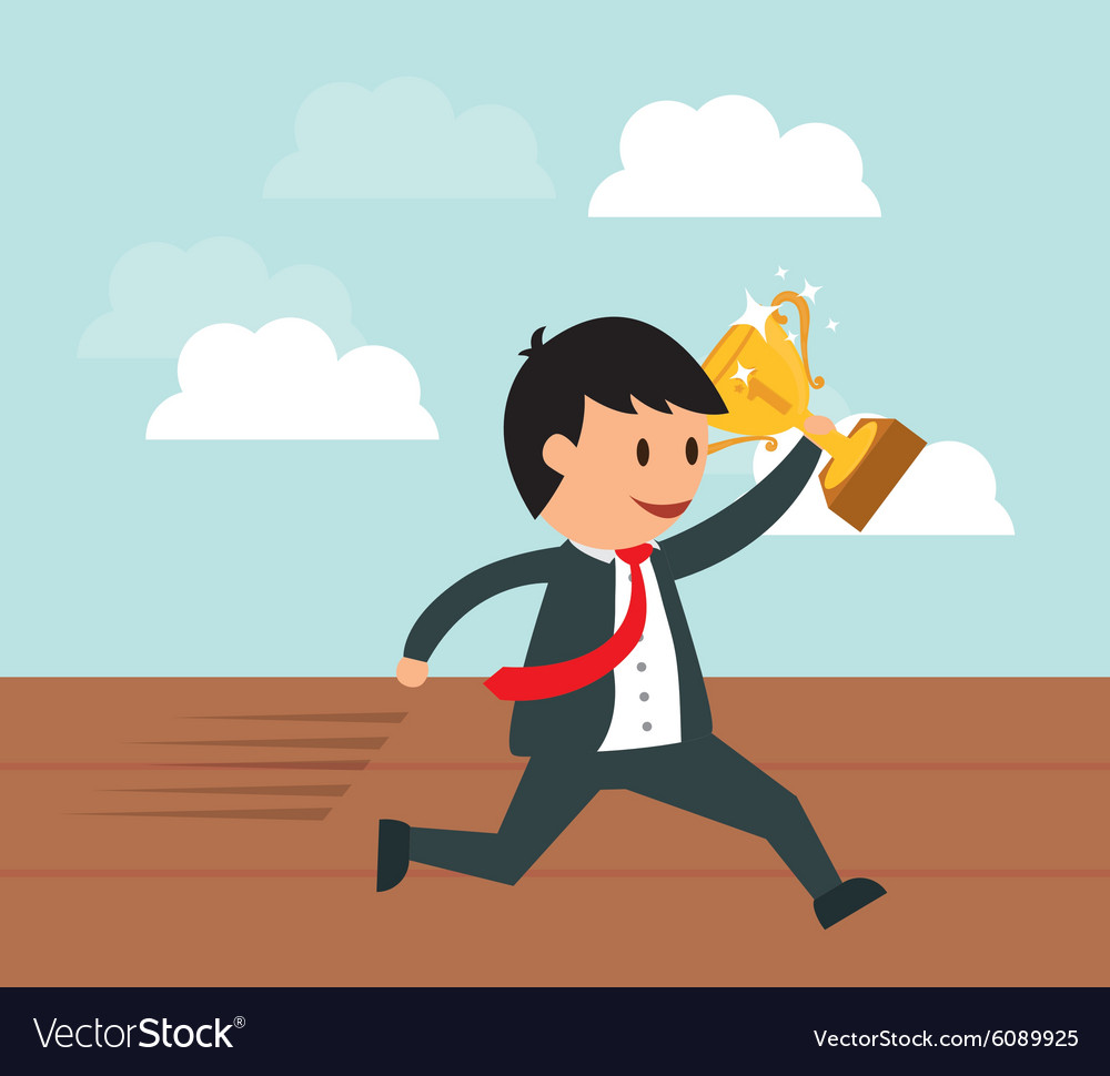 Business entrepreneur vector