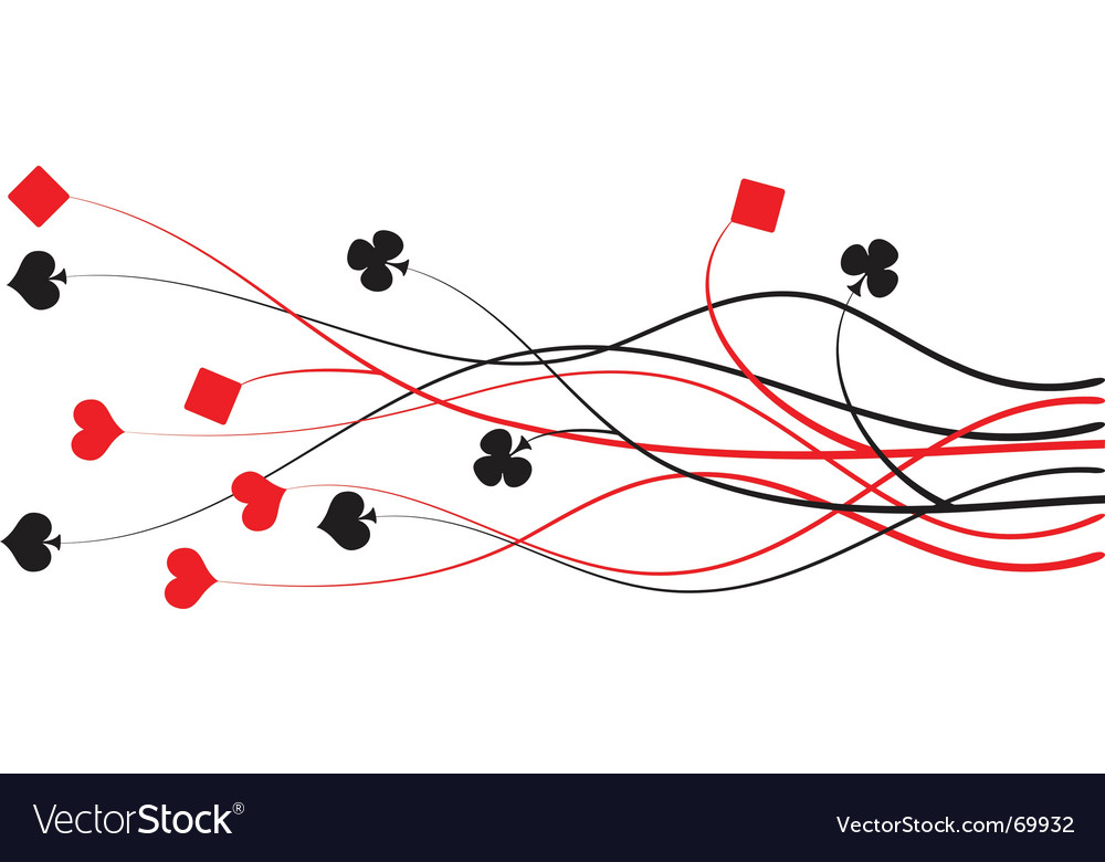 Poker bridge vector
