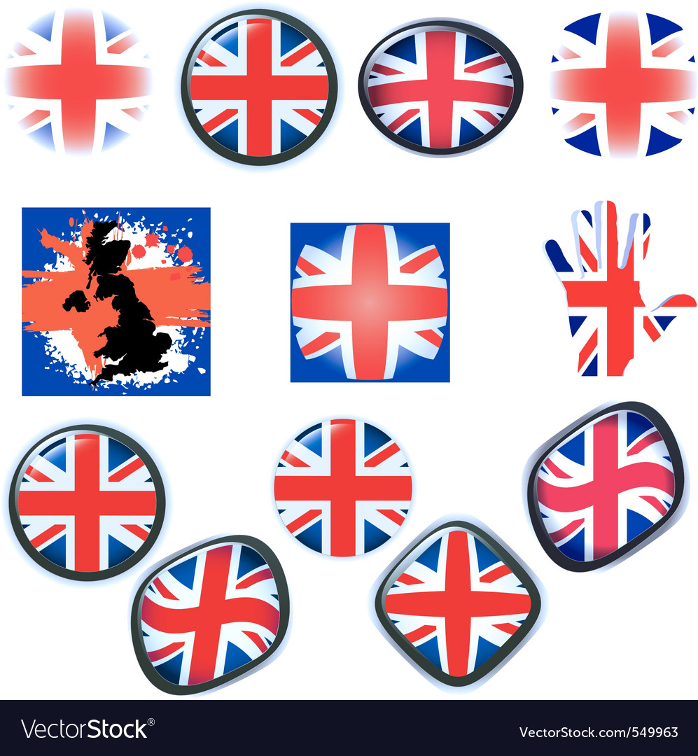 British flag vector