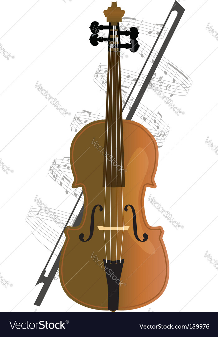Cello violoncello vector