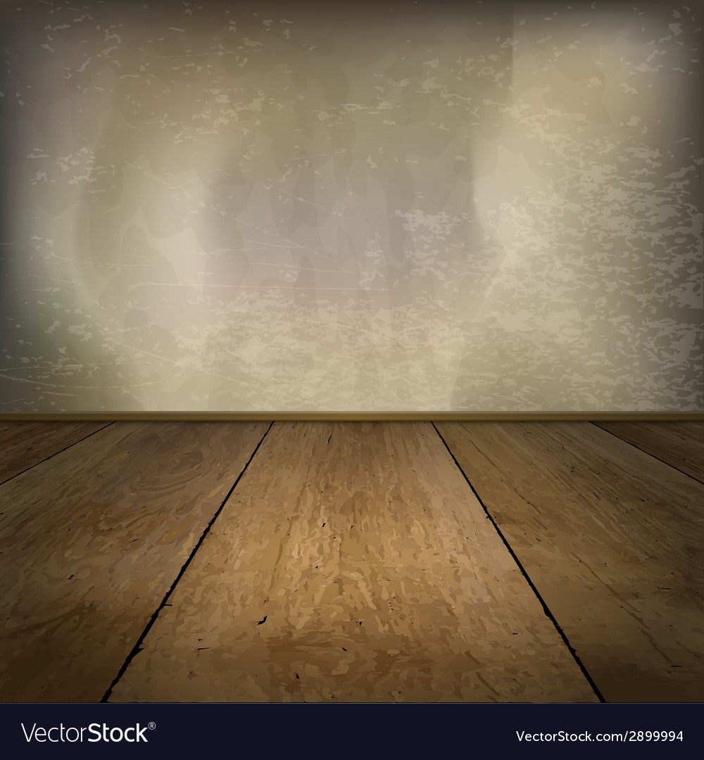 Wood texture room vector